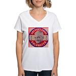 Goldwater-1 Women's V-Neck T-Shirt