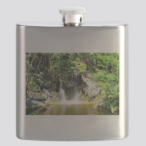 Bahamas Waterfall 2 Flask