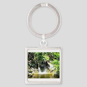 Bahamas Waterfall 2 Keychains