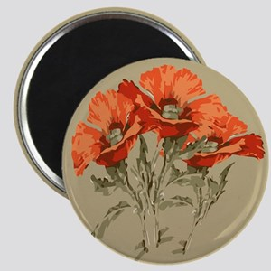 Red Poppies Magnet