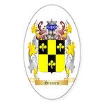 Simoes Sticker (Oval)