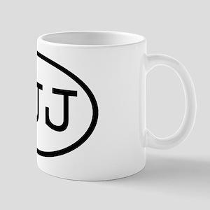 JJJ Oval Mug