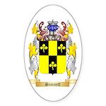 Simnett Sticker (Oval 50 pk)