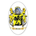 Simms Sticker (Oval 50 pk)