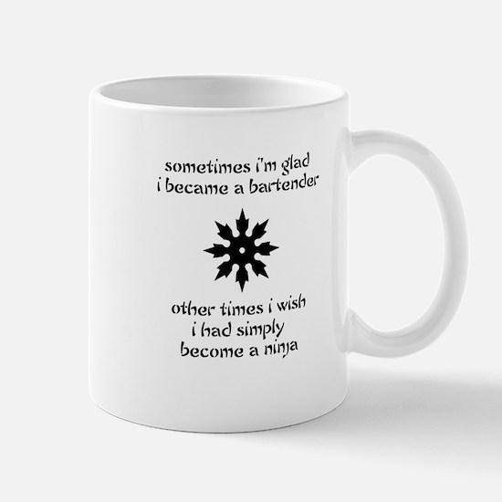 Ninja Bartender Mug