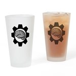 Gear up Drinking Glass