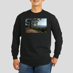 Skyline Drive View Long Sleeve T-Shirt