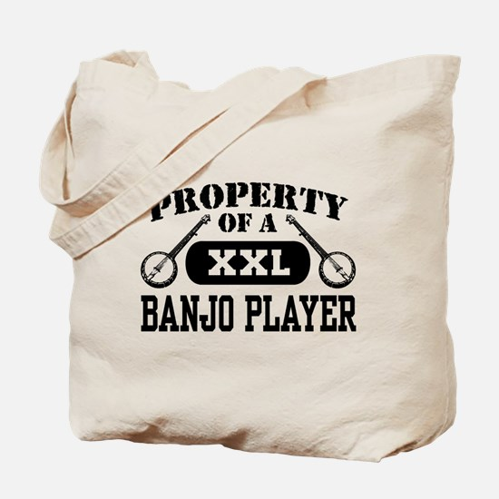 Property of a Banjo Player Tote Bag