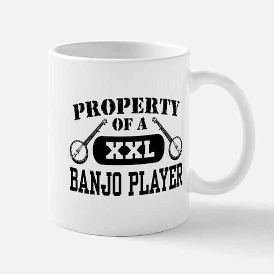Property of a Banjo Player Mug