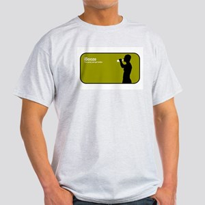 """iBooze"" Ash Grey T-Shirt"