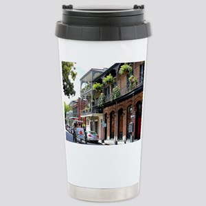 French Quarter Street Travel Mug