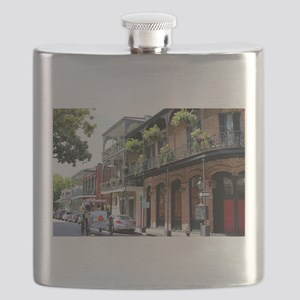 French Quarter Street Flask
