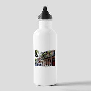 French Quarter Street Water Bottle