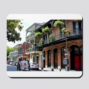 French Quarter Street Mousepad