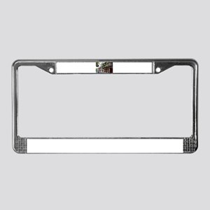 French Quarter Street License Plate Frame