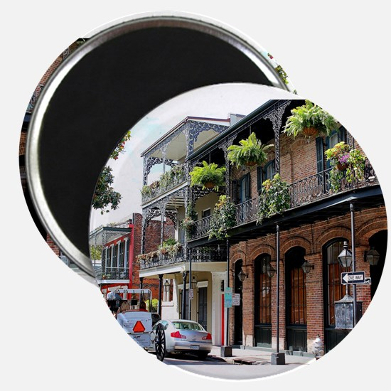 French Quarter Street Magnets