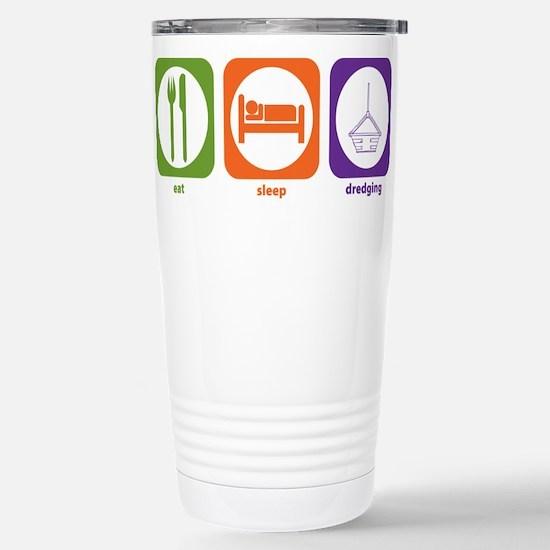 Eat Sleep Dredging Mugs