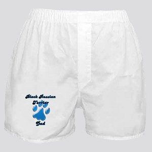 Black Russian Dad3 Boxer Shorts
