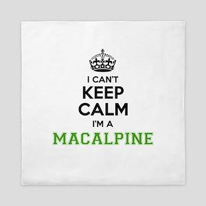 Macalpine I cant keeep calm Queen Duvet