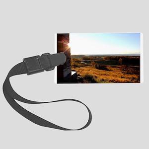 Gettysburg Sunset Luggage Tag