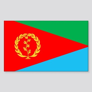 Eritrea Rectangle Sticker