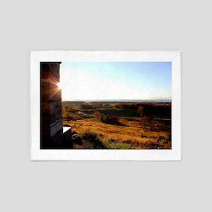 Gettysburg Sunset 5'x7'Area Rug