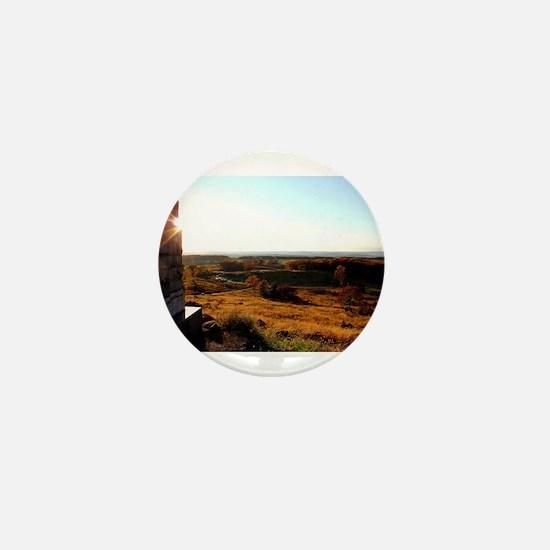 Gettysburg Sunset Mini Button