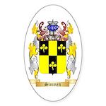 Simmen Sticker (Oval 50 pk)