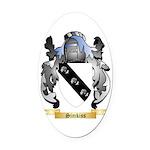 Simkiss Oval Car Magnet