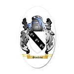Simkins Oval Car Magnet