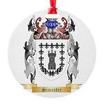 Simister Round Ornament