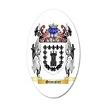 Simister 35x21 Oval Wall Decal