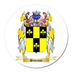 Simione Round Car Magnet