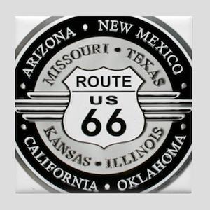 Route 66 states Tile Coaster