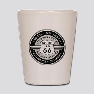 Route 66 states Shot Glass