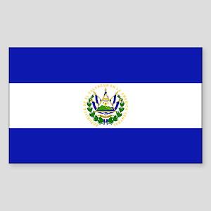 El Salvador Rectangle Sticker