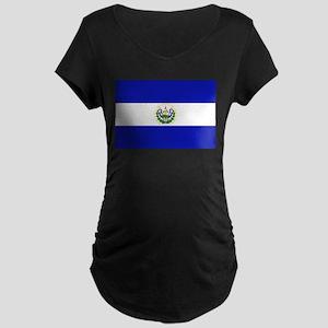 El Salvador Maternity Dark T-Shirt