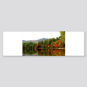 Fall In Love With Autumn In New Eng Bumper Sticker