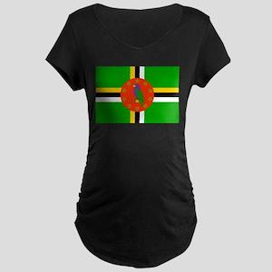 Dominica Maternity Dark T-Shirt