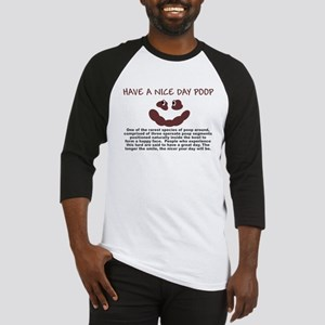 HAVE A NICE DAY SHIRT SMILEY  Baseball Jersey