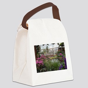 Greenhouse Beauty Canvas Lunch Bag