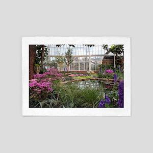 Greenhouse Beauty 5'x7'Area Rug