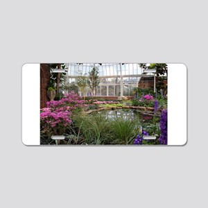 Greenhouse Beauty Aluminum License Plate
