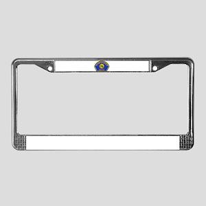 Hermosa Beach Police License Plate Frame