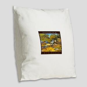 Point Lonsdale, VIC, AU Burlap Throw Pillow