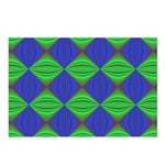Dad's Tie Fractal Postcards (Package of 8)