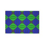 Dad's Tie Fractal Rectangle Magnet (100 pack)