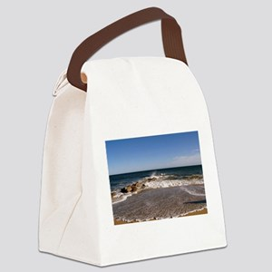 PLUM ISLAND Canvas Lunch Bag