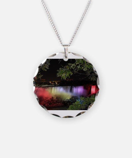 American Falls at night Necklace