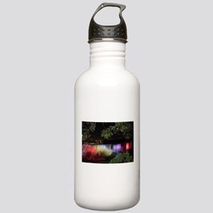 American Falls at night Water Bottle
